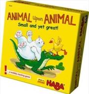 Animal Upon Animal - Small Yet Green