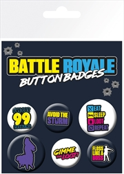Battle Royale Badge Pack
