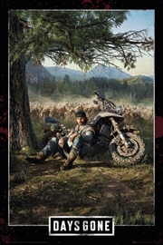 Days Gone Key Art | Merchandise