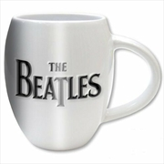 Beatles Drop T White Mug