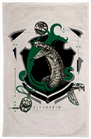 Harry Potter - Slytherin Tea Towel