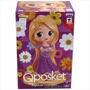 Disney Characters Q Posket Girlish Charm Rapunzel Princess a Figure | Merchandise
