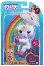 Fingerlings Gigi Unicorn