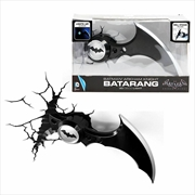 Batman Batarang 3D Light