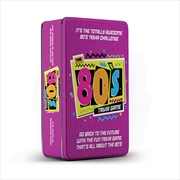 80s Trivia Game Tin | Merchandise
