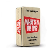 Whats In The Tin | Merchandise