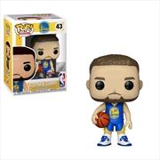 NBA: Warriors - Stephen Curry (Alt Jersey) US Exclusive Pop! Vinyl [RS]