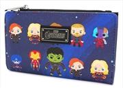 Avengers - Chibi Print Mini Wallet