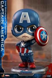 Avengers 4: Endgame - Captain America Cosbaby