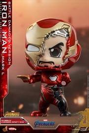 Avengers 4: Endgame - Iron Man Battle Damaged Cosbaby