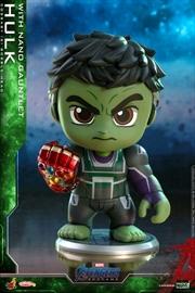 Avengers 4: Endgame - Hulk w/Gauntlet Cosbaby