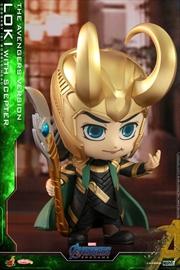 Avengers 4: Endgame - Loki w/Scepter Cosbaby