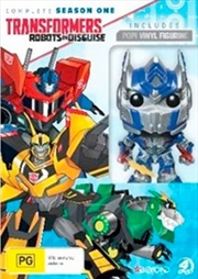 Transformers Robots In Disguise Season 1: Bonus Pop Vinyl | DVD