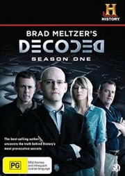 Brad Metzler's Decoded - Season 1 | Slimline | DVD