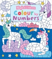 Magical Unicorn Colour By Number