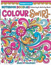 Notebook Doodles: Colour Swirl | Paperback Book