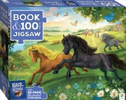Black Beauty Book And 100 Piece Jigsaw