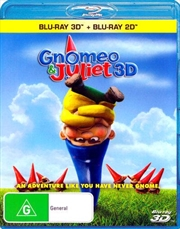 Gnomeo and Juliet | Blu-ray 3D