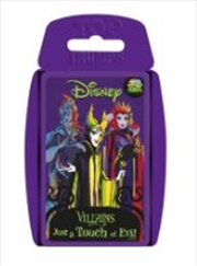 Top Trumps - Disney Villains | Merchandise
