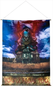 It (2017) - Pennywise Banner | Merchandise