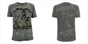 Metallica - Justice Neon All Over: Tshirt XXL | Apparel