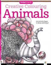 Design Originals Creative Colouring: Animals