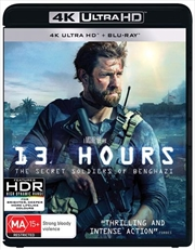 13 Hours - The Secret Soldiers Of Benghazi | Blu-ray + UHD