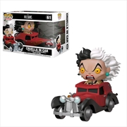 101 Dalmatians - Cruella in Car US Exclusive Pop! Ride [RS] | Pop Vinyl