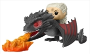 Game of Thrones - Daenerys on Fiery Dragon Pop! Ride | Pop Vinyl