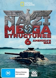 National Geographic - Nazi Megastructures 6 - America's War | DVD