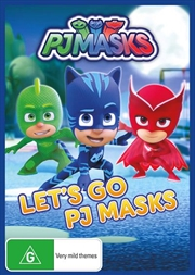 PJ Masks - Let's Go | DVD