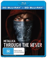Metallica - Through The Never | 3D + 2D Blu-ray