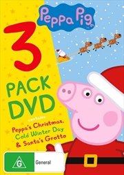 Peppa Pig - Christmas | Triple Pack | DVD