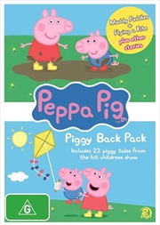 Peppa Pig - Piggy Back Pack - Collection 1