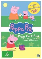 Peppa Pig - Piggy Back Pack - Collection 2 | DVD