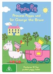 Peppa Pig - Princess Peppa and Sir George The Brave | DVD