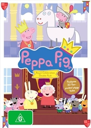 Peppa Pig - Royal Celebration | Double Pack | DVD