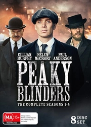Peaky Blinders - Season 1-4 | Boxset