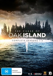 Curse Of Oak Island - Season 1-3 | Collection, The | DVD