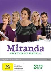 Miranda - Series 1-3 | Boxset | DVD