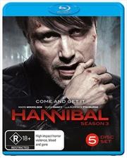 Hannibal - Season 3   Blu-ray