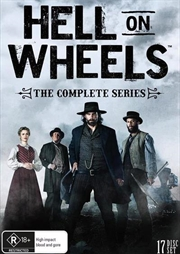 Hell On Wheels - Season 1-5 | DVD