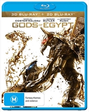 Gods Of Egypt | 3D + 2D Blu-ray