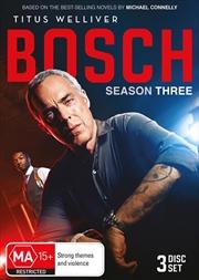 Bosch - Season 3 | DVD