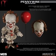 It (2017) - Pennywise Deluxe Designer Figure | Merchandise