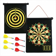 Magnetic Roll Up Dartboard | Toy
