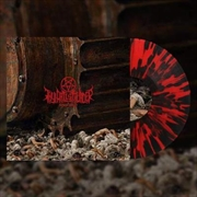 Human Target - Limited Edition Red With Heavy Black Splatter Coloured Vinyl