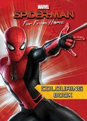 Spider-Man Far From Home Colouring Book | Paperback Book