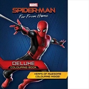 Spider-Man Far From Home Deluxe Colouring Book | Paperback Book