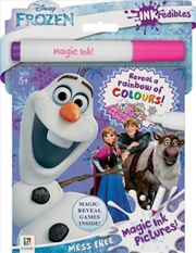 Inkredibles Disney Frozen Magic Ink Pictures (2019 Ed) | Hardback Book